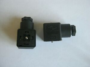 NEW QTY 2 Canfield Connector B12 4 pin female valve solenoid plug