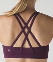 Lululemon Women's Energy Bra In Purple Plum