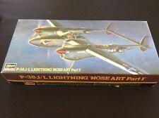 Hasegawa 1:72 P-38J/L Lightning 'Nose Art Part 1' Model Kit #51585