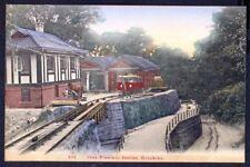 Peak Tramway Station, HONG KONG. circa 1905 Vintage PC. Free UK Postage. ref 283