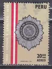PERU  JAAR 1976 AEREO NR. Y&T 424 ° (L11)