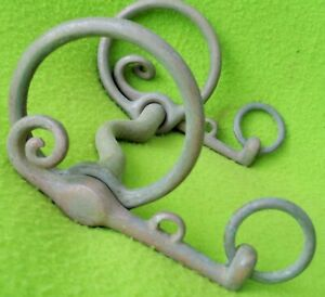 ANTIQUE Victorian Era UNIQUE Unusual Equestrian Hors BIT~Very COLLECTIBLE~USE~NR