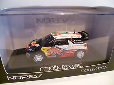 CITROEN DS3 WRC RALLYE DU PORTUGAL de 2011 S.OGIER : NOREV ~ NEUF