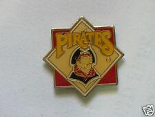 Pittsburgh Pirates Baseball Diamond Pin  , Vintage (B2) Red