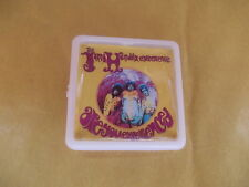 THE JIMI HENDRIX EXPERIENCE ARE YOU EXPERIENCED ALBUM COVER    BADGE PIN