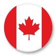 "Pin Button Badge Ø25mm 1"" Drapeau Flag Echarpe Maillot Canada CA"