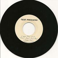 TEST PRESSING - (previously unissued) - NORTHERN SOUL 7'' 45rpm - LISTEN!!