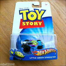 Disney PIXAR Toy Story LITTLE GREEN SPEEDSTER Hot Wheels diecast aliens zealots