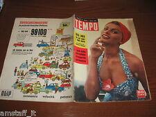 RIVISTA TEMPO 1956/31=SOFIA SOPHIA LOREN=IL GIGLIO DEL NILO FIORE=CURD JURGENS=