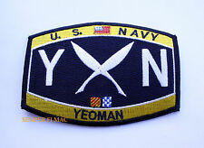 YEOMAN YN RATING HAT PATCH USN PIN UP USS ENLISTED CHIEF GIFT USN US NAVY WOW