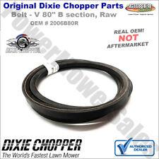 "2006B80R Dixie Chopper Belt (V 80"" B Section, Raw) for Lawn Mowers"