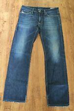 Diesel VIKER Mens Jeans W33 L32 Dark Blue Regular Fit Straight Mid Rise