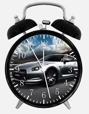 "Nissan GTR Alarm Desk Clock 3.75"" Home or Office Decor W89 Nice For Gift"