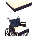 Essential Medical Supply Fleece Covered Wheelchair Cushion, 18 Inches X 16 In...
