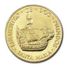 Spain 500th Anniversary Santa Maria Medal 1992 BU Encuentro De Dos Mundos