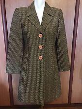 Ces Astuces Astu Women Blazer Jacket 3 XS Small France Brownish Vintage Pockets