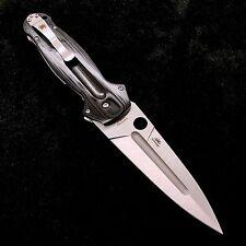 """Spyderco EuroEdge C215G G10 Handle CPM S30V Steel Blade Plain Edge 3.92"""" Dagger"""