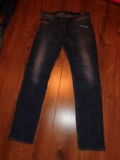 Mens Diesel Belther Stretch Slim Tapered Denims Jeans Size W32 L32 - Wash 0814W
