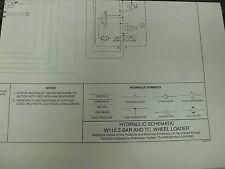 New Holland W110 Z-Bar & TC Wheel Loader Hydraulic Schematic Diagram Manual