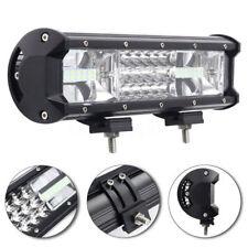 12 Inch 324W LED Work Light Bar Flood Spot Combo Car Truck SUV 4WD Off Road