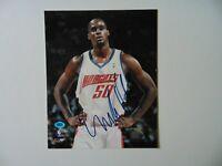 """Charlotte Bobcats"" Emeka Okafor Hand Signed 8X10 Color Photo CAS COA"