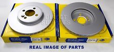 2 X FRONT BRAKE DISCS MINI MINI R50, R53 1.4 1.6 R56 1.6 R55 R52 R57 R58 R59 1.6