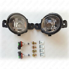 For 2008-2013 Nissan Altima Coupe 2DR S SE SR Clear Lens Fog Light Kit with Bulb