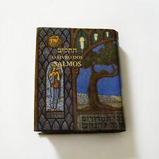 MINI Book Psalms Tehillim O Livro Dos Salmos Hebrew Portuguese Judaica Israel
