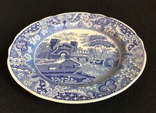 "Spode Blue Room Tradition Series 'Castle' 10 1/3"" Plate~EUC"