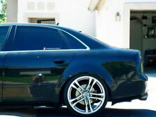 Audi-A4 S4 RS4 B6 B7 Euro Roof Extension Rear Window Cover Spoiler Wing Trim ABS