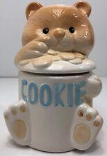 Vintage Alco Teddy Bear Cookie Jar Ceramic Novelty Home Decoration
