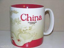 China Starbucks Mug Bone Coffee New Oz Cup White City Mugs Red 16oz Series 2011