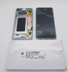 Samsung Galaxy S10 SM-G973 Service Pack - Prism White GH82-18835B / GH82-18850B