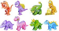 6 Dinosaur 3D Puzzles - Toy Birthday / Christmas Party Bag Fillers / Kids Game