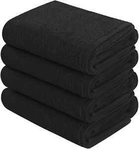 Goza Towels Cotton Hand Towels (4- Pack, 16 x 28 inches)