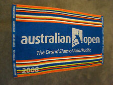 RARE AUSTRALIAN OPEN 2008 THE GRAND SLAM OF ASIA / PACIFIC TENNIS TOWEL