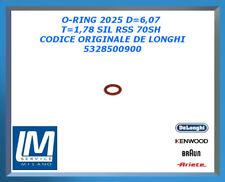 O-RING 2025 D=6,07 T=1,78 SIL RSS 70SH 5328500900 DE LONGHI ORIGINALE