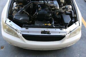 LRB Speed Aluminum Radiator Panel - Fits: Lexus IS300 01-05 Toyota