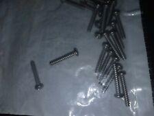 "Pan Head Machine Screws Stainless Steel 6-32 X 7/8"" Qty 25"
