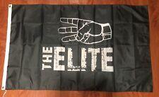 The Elite Wrestling 3'x5' black flag - NJPW, WCW, ROH, WWE USA Seller shipper