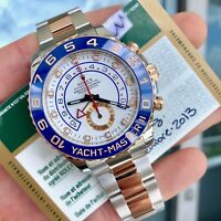 2013 Rolex Yacht-Master II 116681 Rose Gold & Steel 44mm w/ Papers