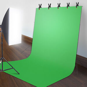 5*10FT Chromakey Green Screen Photography Backdrop Background For Studio Photo