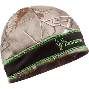 Huntworth Nighthawk Youth Performance Beanie Hunting Oaktree Camo Fully Lined