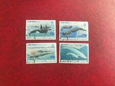Bat British Antarctic 1996 Used Whales Killer Sperm Minke Blue
