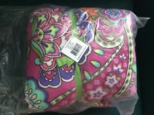 NWT VERA BRADLEY THROW BLANKET In Pink Swirl