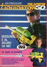 Pubblicità Advertising GIG 1992 Super Liquidator 50