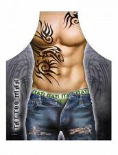 Kochschürze Grillschürze Tattoo man