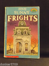 1993 SC FIVE FUNNY FRIGHTS JUDITH STAMPER SCHOLASTIC LEVEL 4 GRADES 2 & 3
