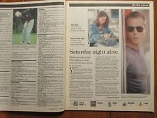 1998 Chicago Tribune TV Week(BROOKE  LANGTON/MARCUS  GRAHAM/JOSE  ZUNIGA/THE NET