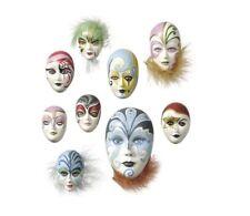 STAMPO CON 9 FORME mini maschere di Carnevale FORMINE DECORAZIONI natale